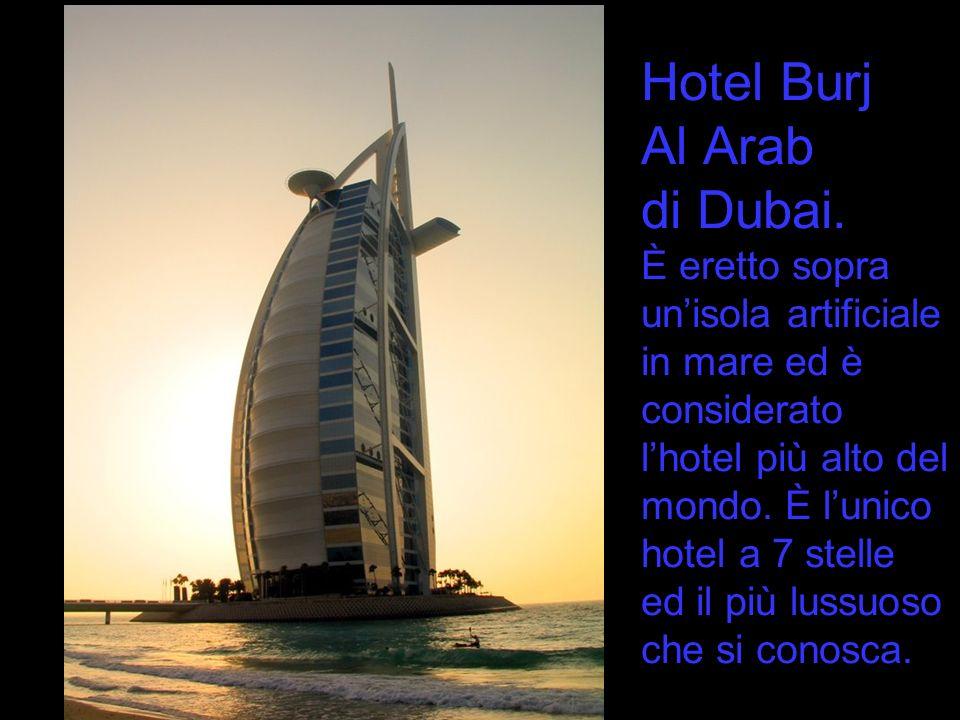Hotel Burj Al Arab di Dubai