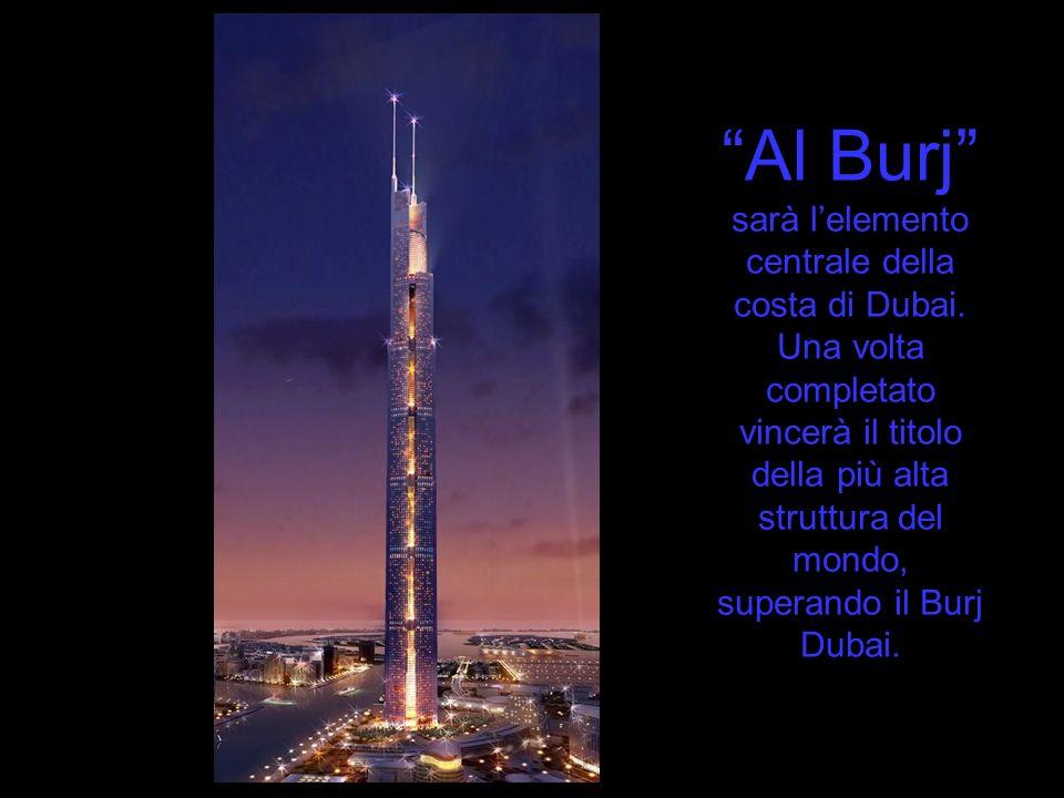 Al Burj sarà l'elemento centrale della costa di Dubai
