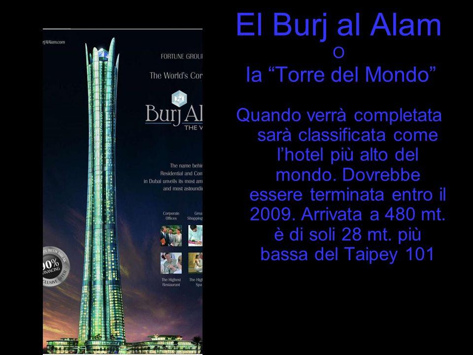 El Burj al Alam O. la Torre del Mondo
