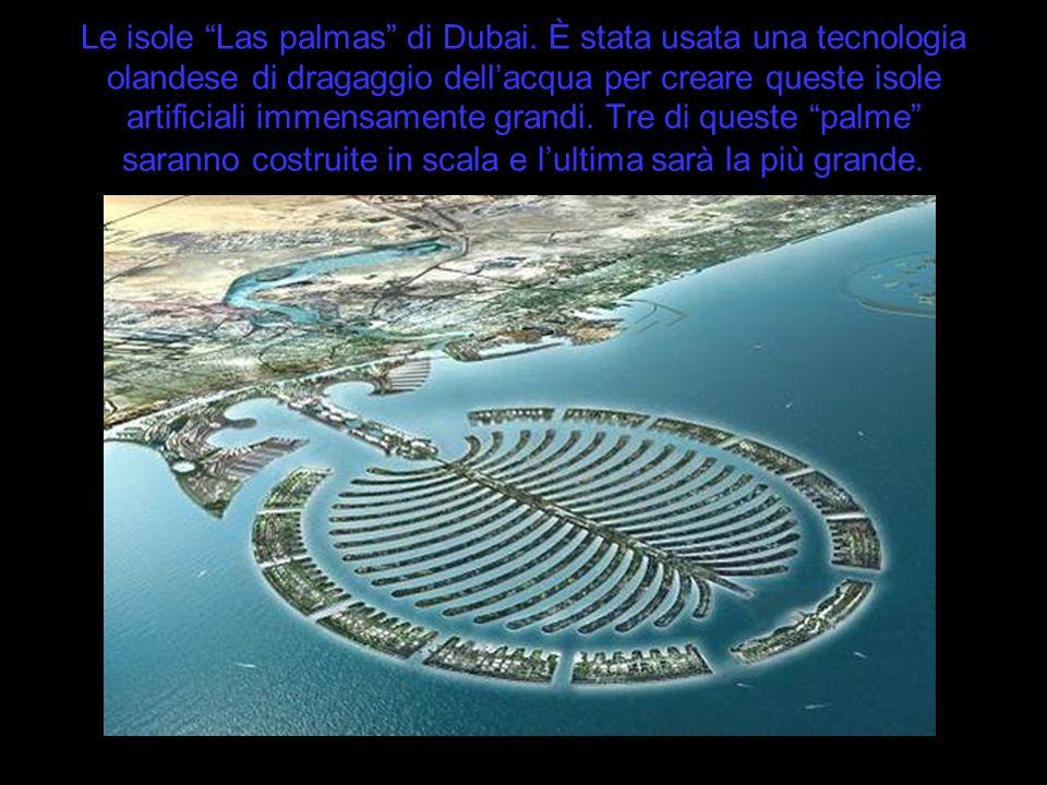 Le isole Las palmas di Dubai