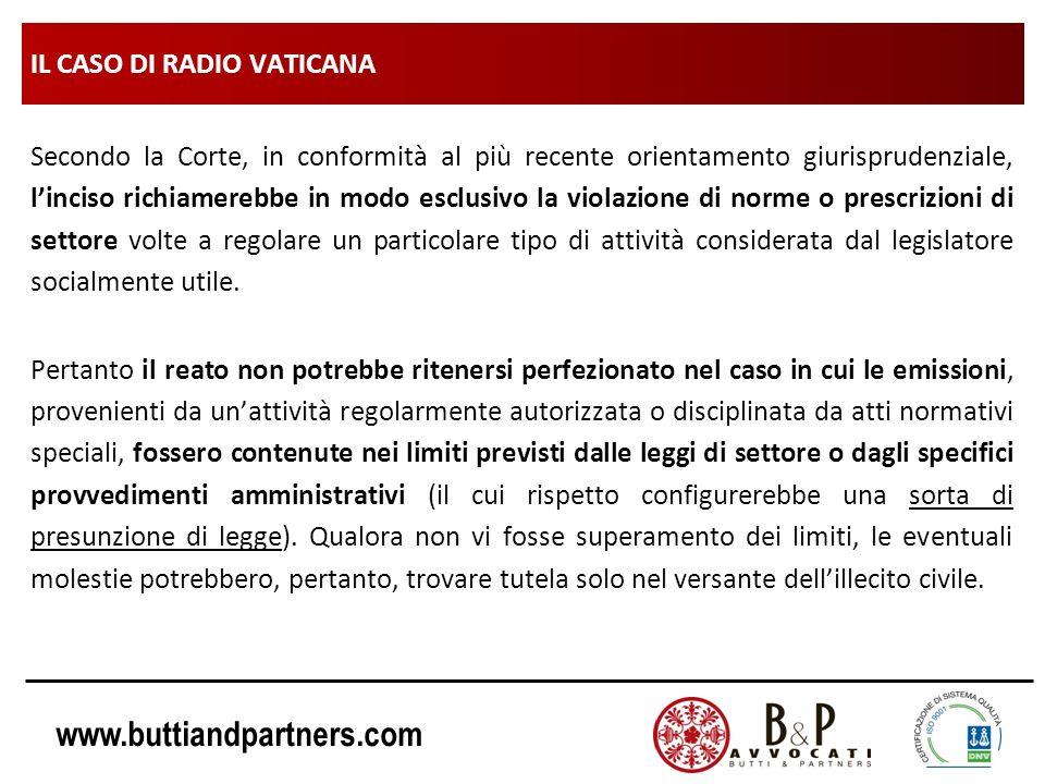 IL CASO DI RADIO VATICANA