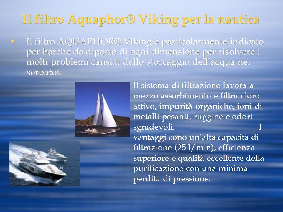 Il filtro Aquaphor® Viking per la nautica
