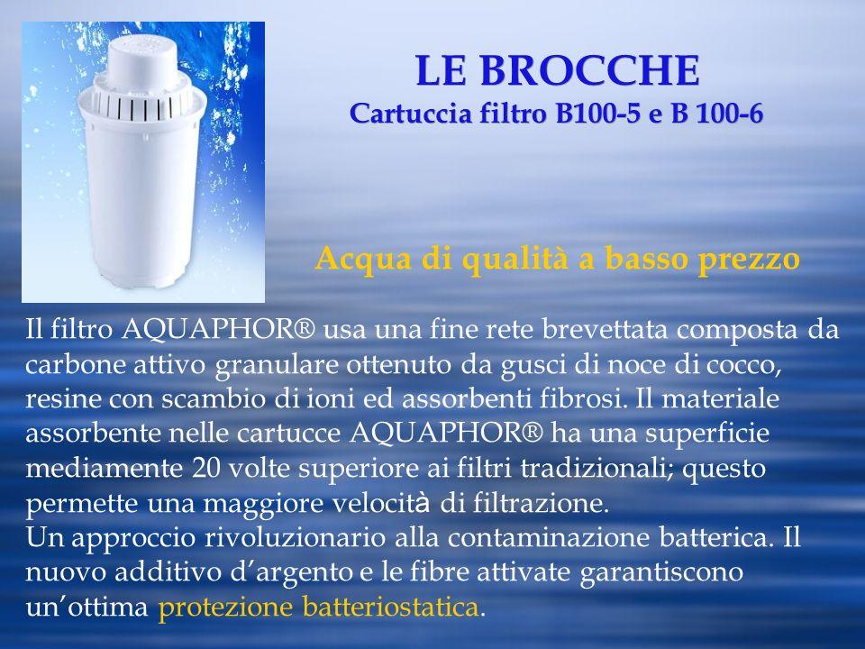 LE BROCCHE Cartuccia filtro B100-5 e B 100-6