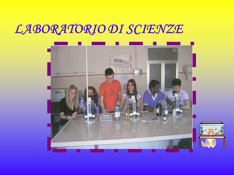 LABORATORIO DI SCIENZE