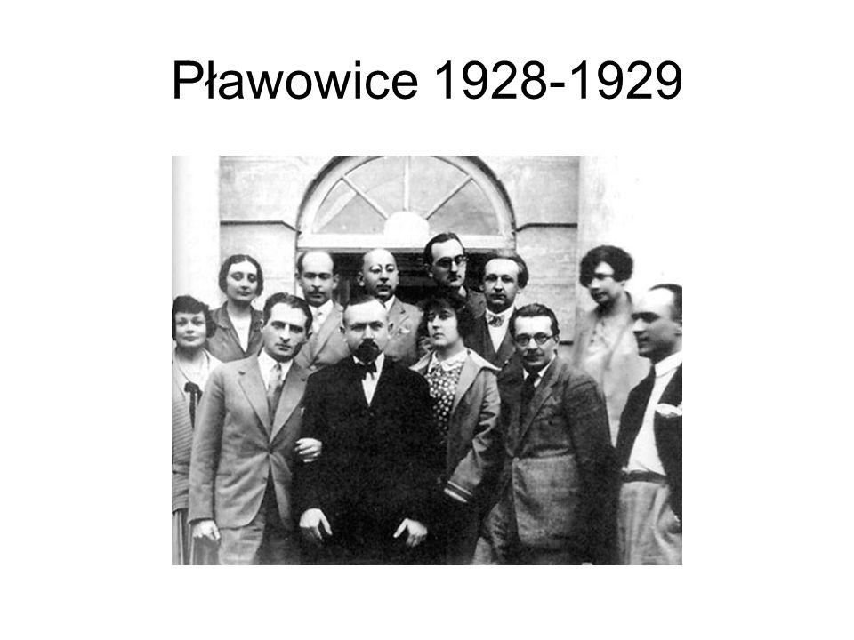 Pławowice 1928-1929