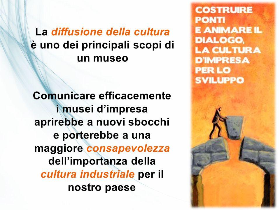 La diffusione della cultura è uno dei principali scopi di un museo