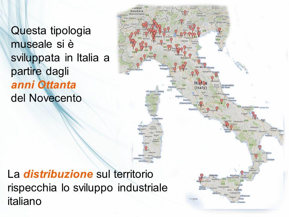 Questa tipologia museale si è sviluppata in Italia a partire dagli