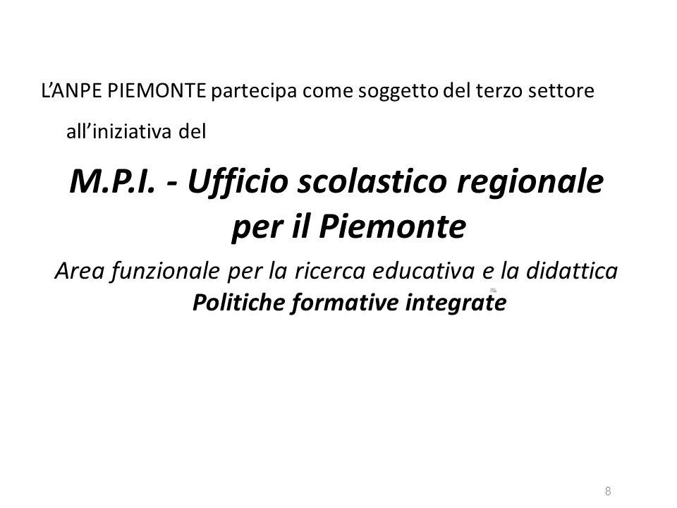 M.P.I. - Ufficio scolastico regionale per il Piemonte