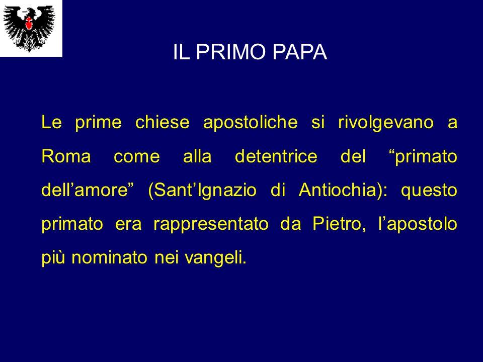 IL PRIMO PAPA