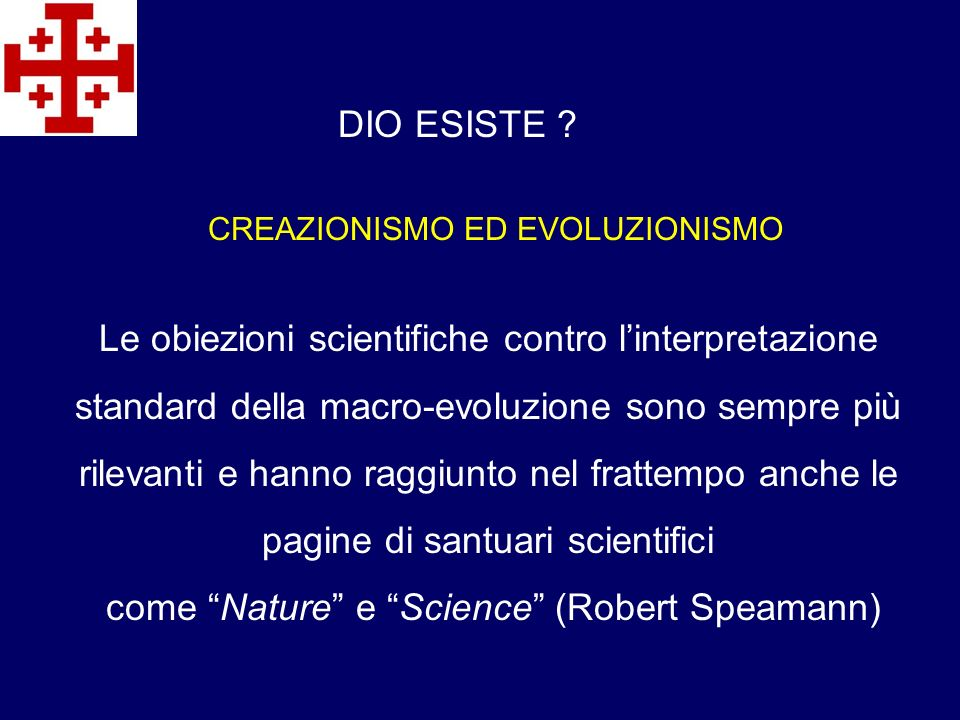 come Nature e Science (Robert Speamann)
