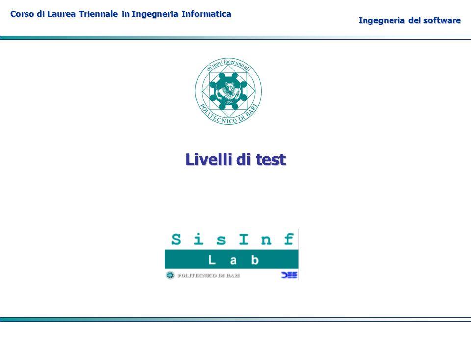 Livelli di test
