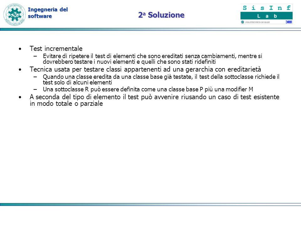 2a Soluzione Test incrementale