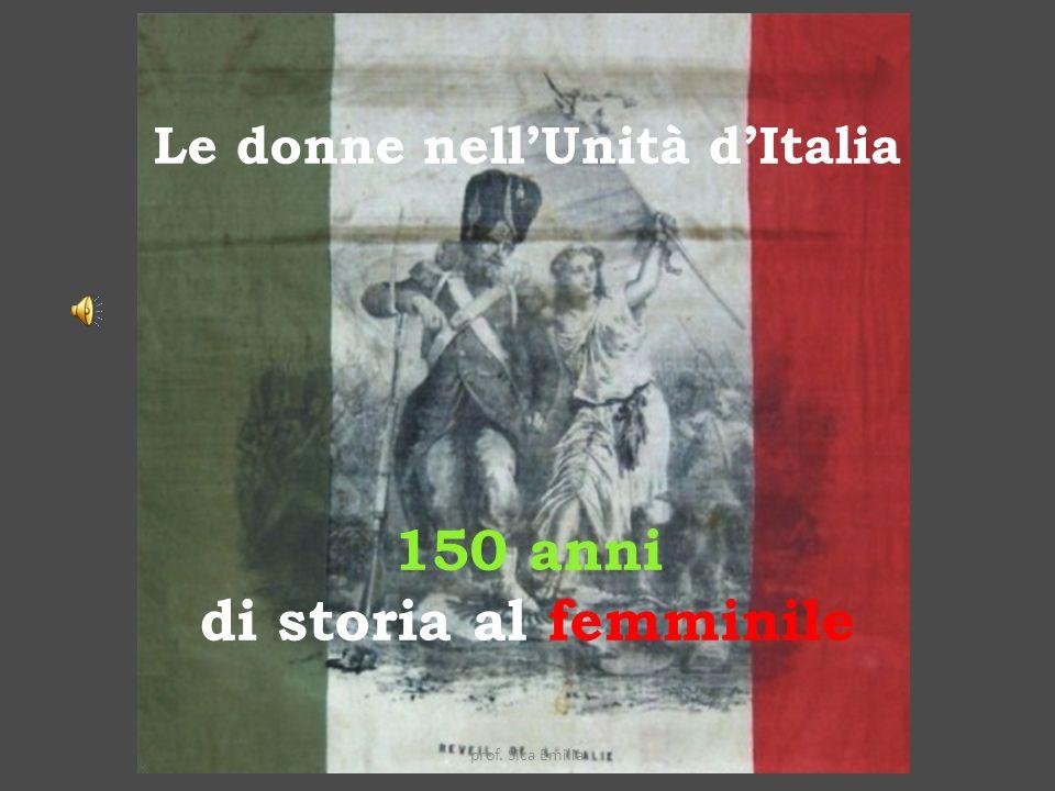 Le donne nell'Unità d'Italia