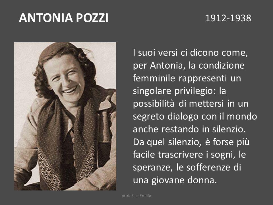 ANTONIA POZZI 1912-1938.