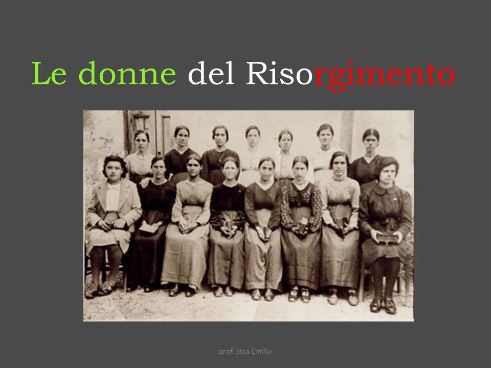 Le donne del Risorgimento
