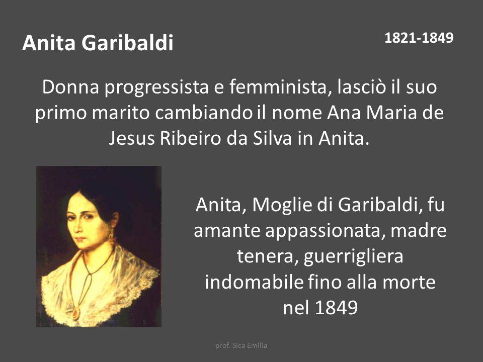 Anita Garibaldi 1821-1849.