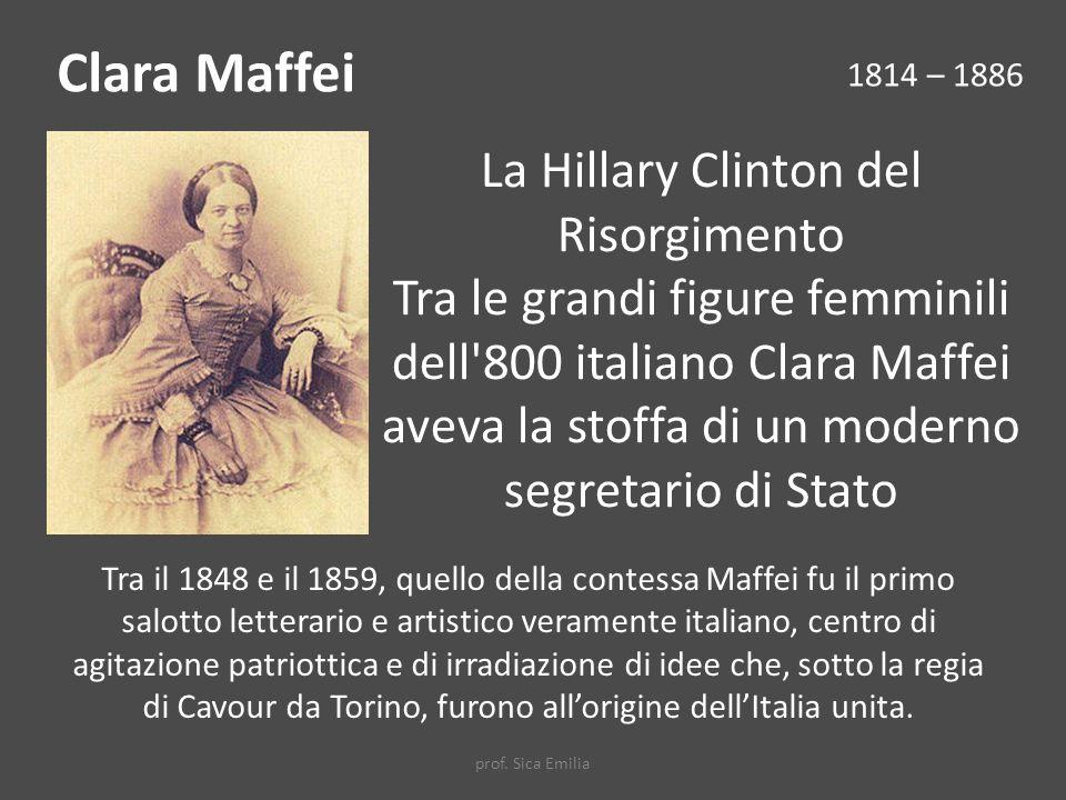 La Hillary Clinton del Risorgimento