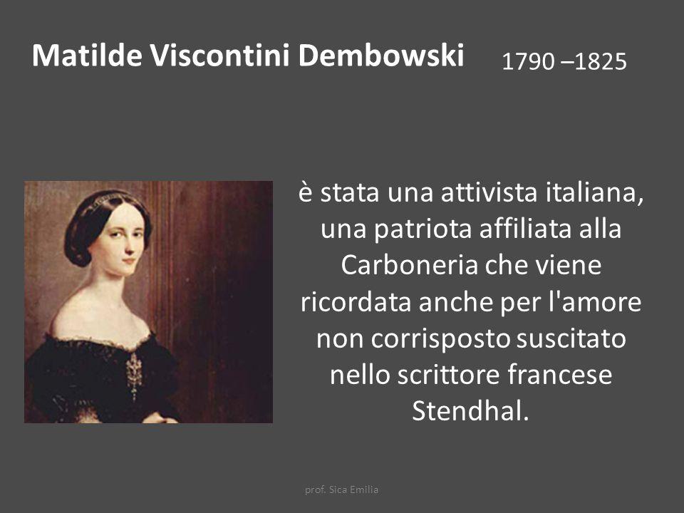 Matilde Viscontini Dembowski