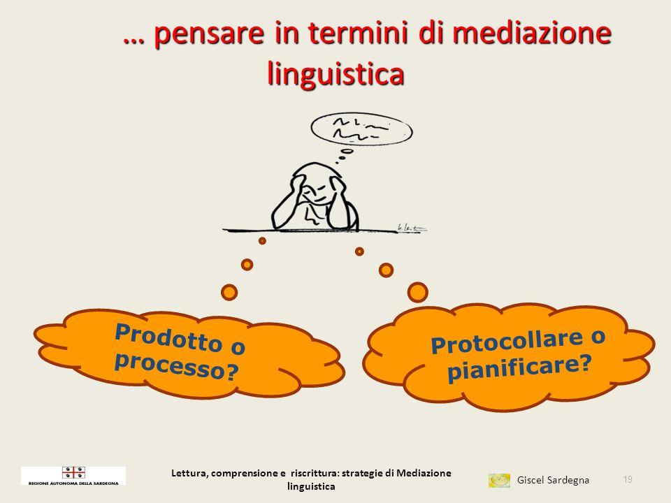 … pensare in termini di mediazione linguistica