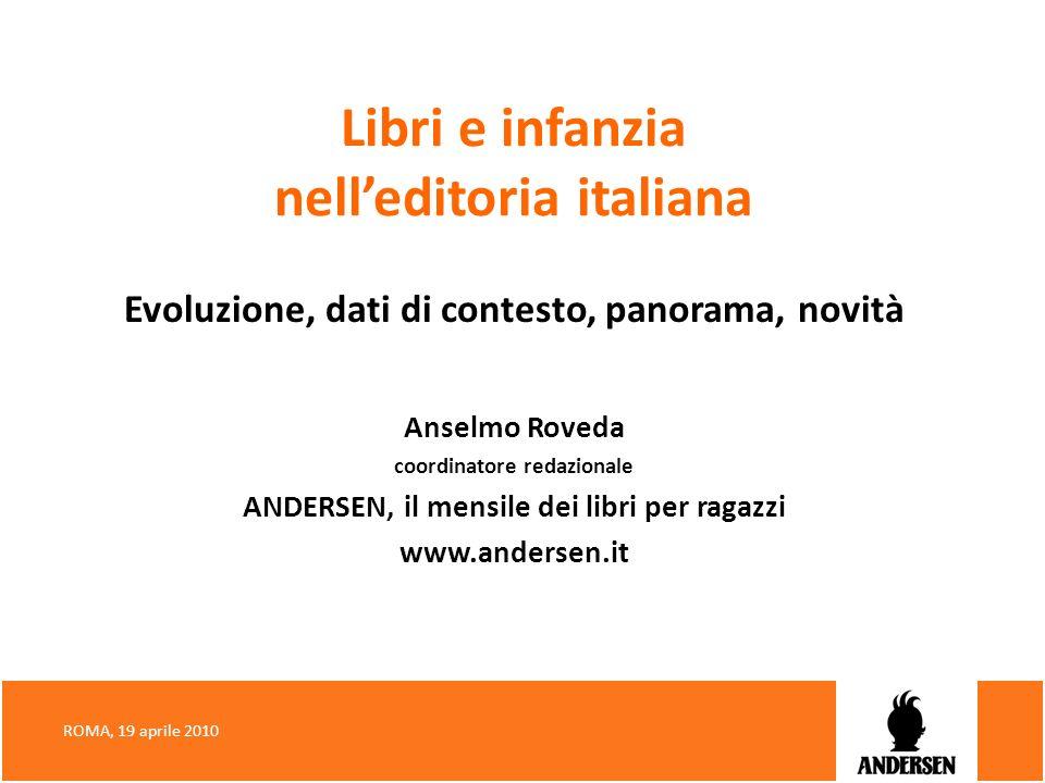 Libri e infanzia nell'editoria italiana