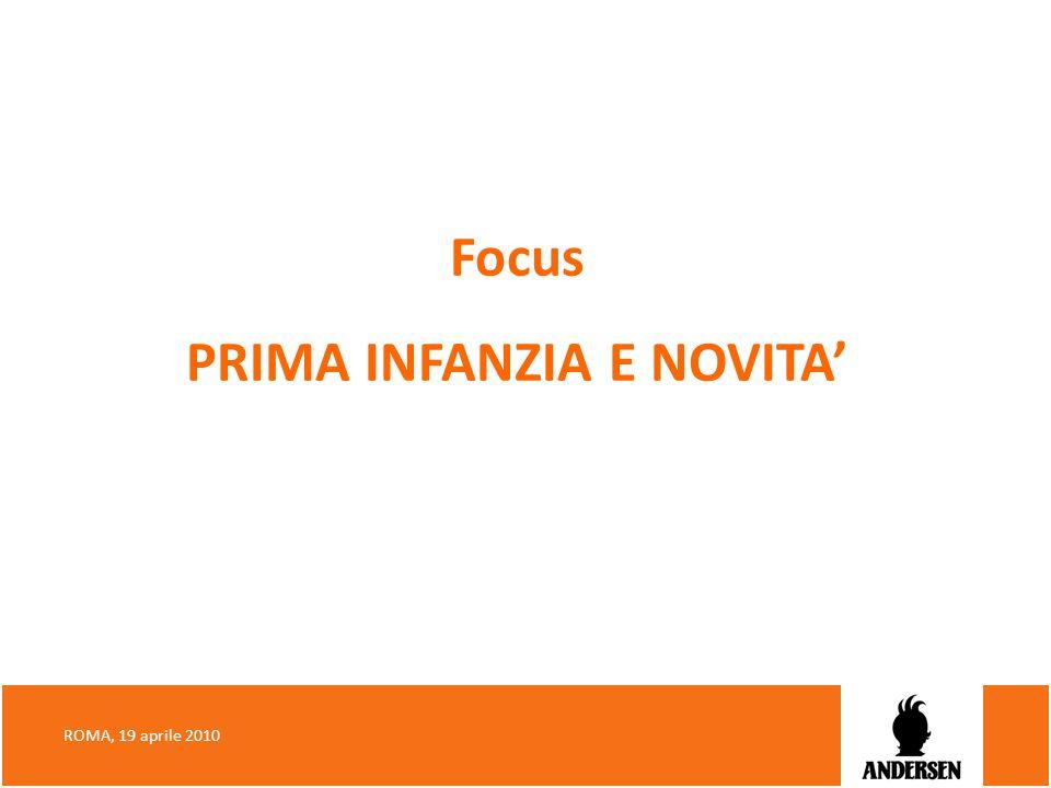 Focus PRIMA INFANZIA E NOVITA'