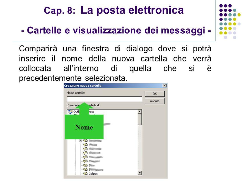 Modulo 7: Internet e Posta Elettronica