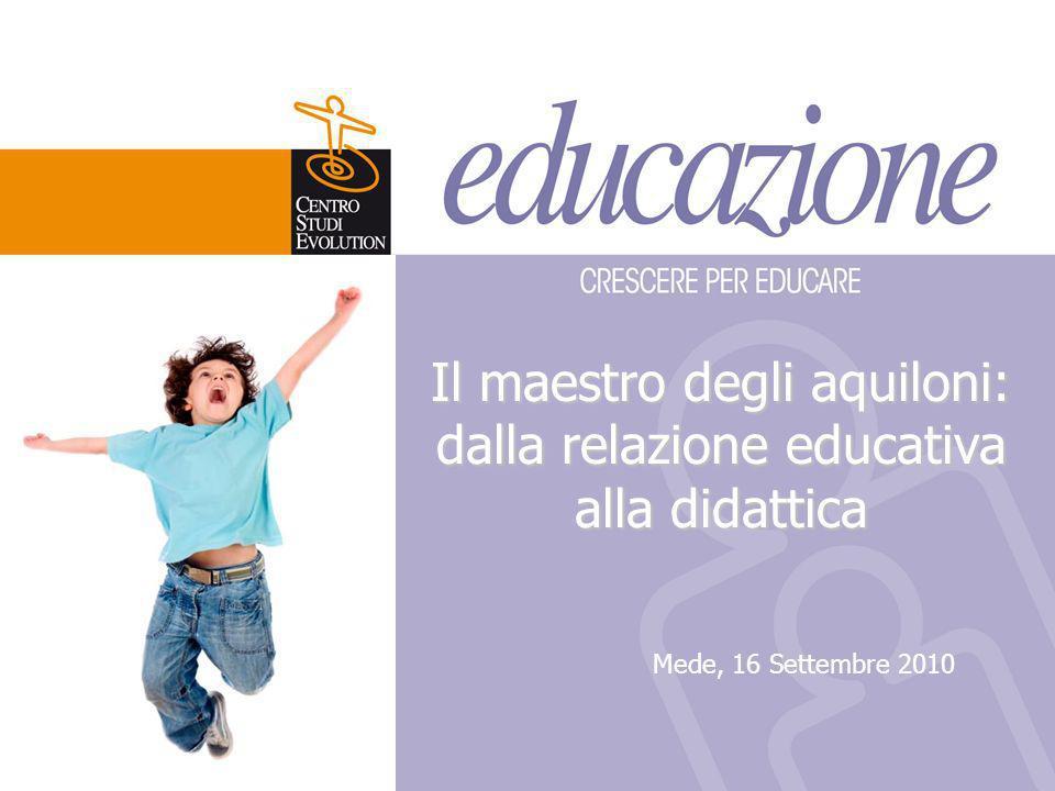 Il maestro degli aquiloni: dalla relazione educativa alla didattica
