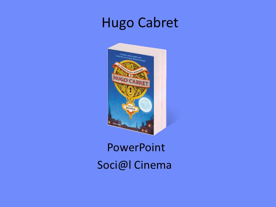 PowerPoint Soci@l Cinema