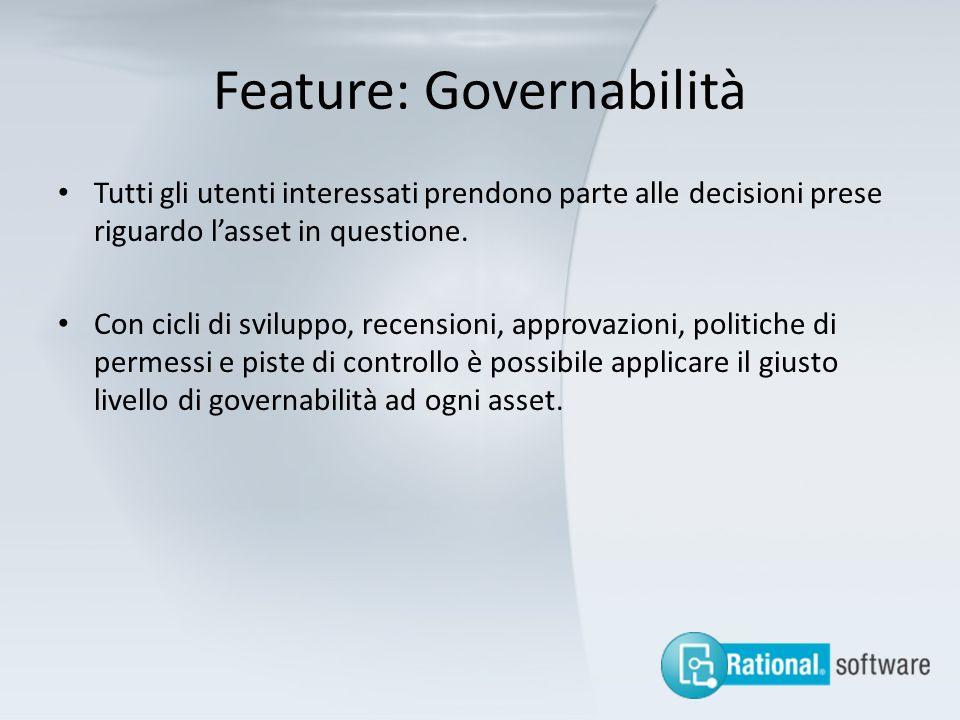 Feature: Governabilità
