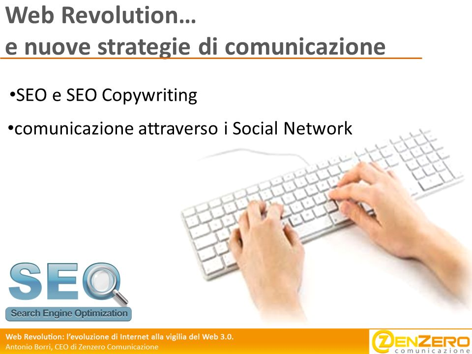 Web Revolution… e nuove strategie di comunicazione