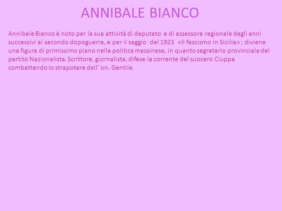 ANNIBALE BIANCO
