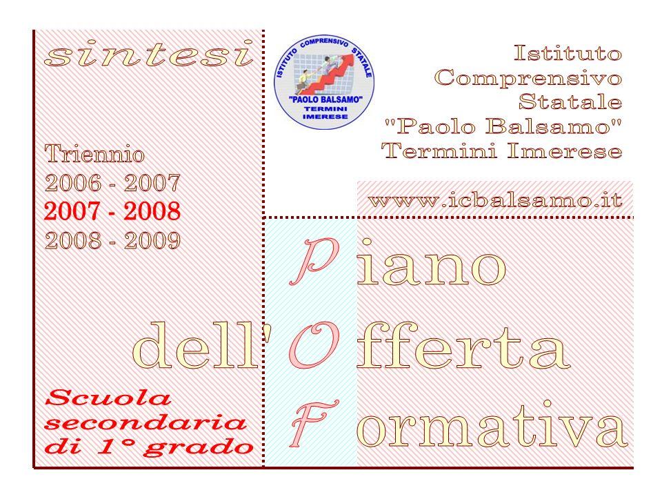 sintesi Istituto. Comprensivo. Statale. Paolo Balsamo Termini Imerese. www.icbalsamo.it. Triennio.
