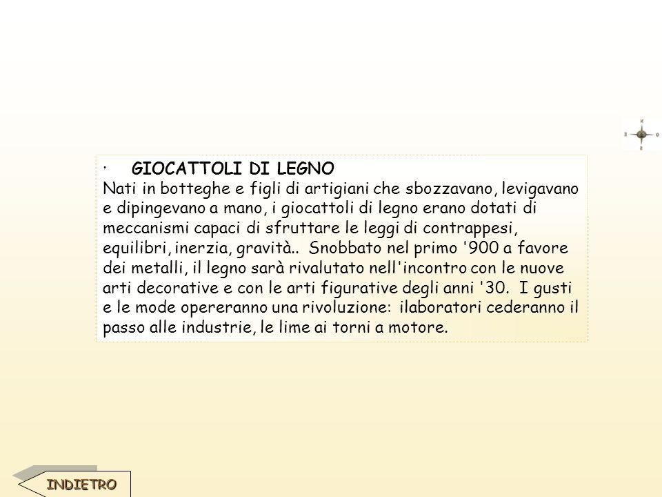 · GIOCATTOLI DI LEGNO