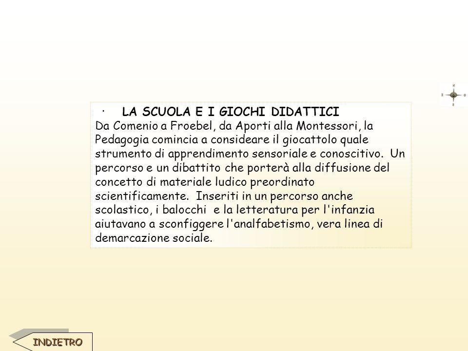 · LA SCUOLA E I GIOCHI DIDATTICI