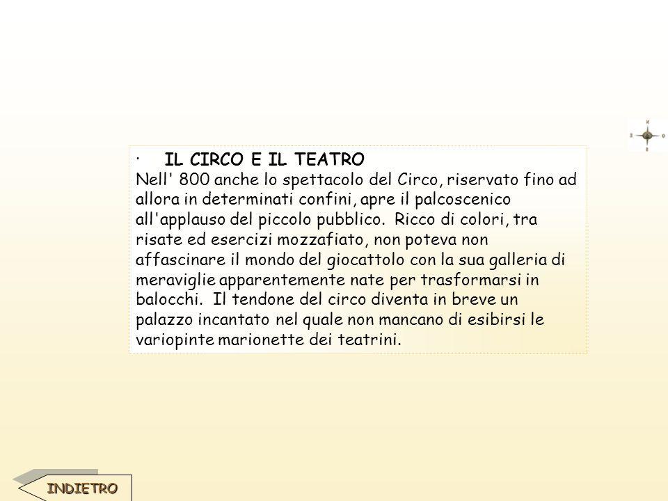 · IL CIRCO E IL TEATRO