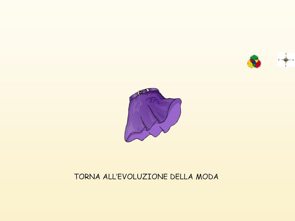 TORNA ALL'EVOLUZIONE DELLA MODA