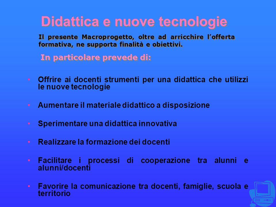 Didattica e nuove tecnologie
