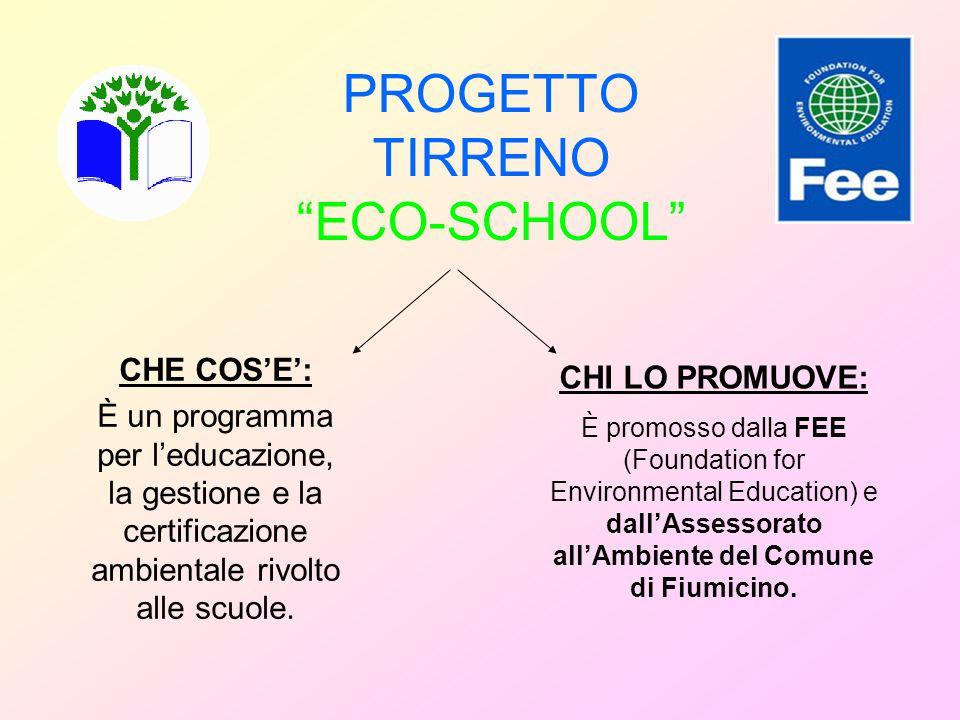 PROGETTO TIRRENO ECO-SCHOOL