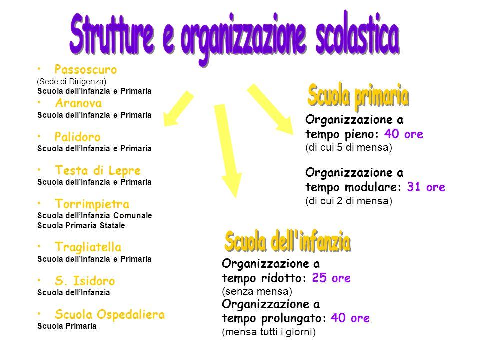Strutture e organizzazione scolastica