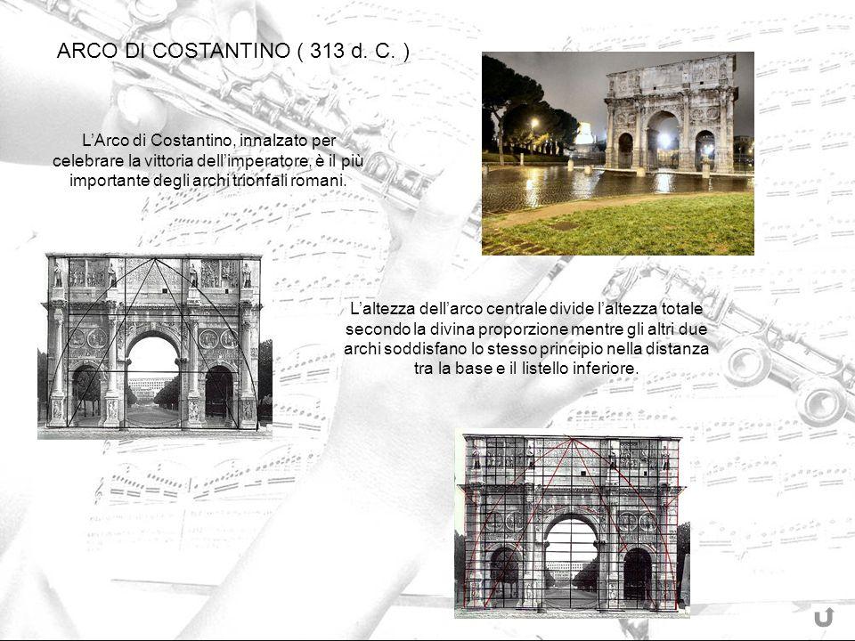 ARCO DI COSTANTINO ( 313 d. C. )