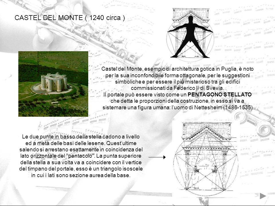 CASTEL DEL MONTE ( 1240 circa )