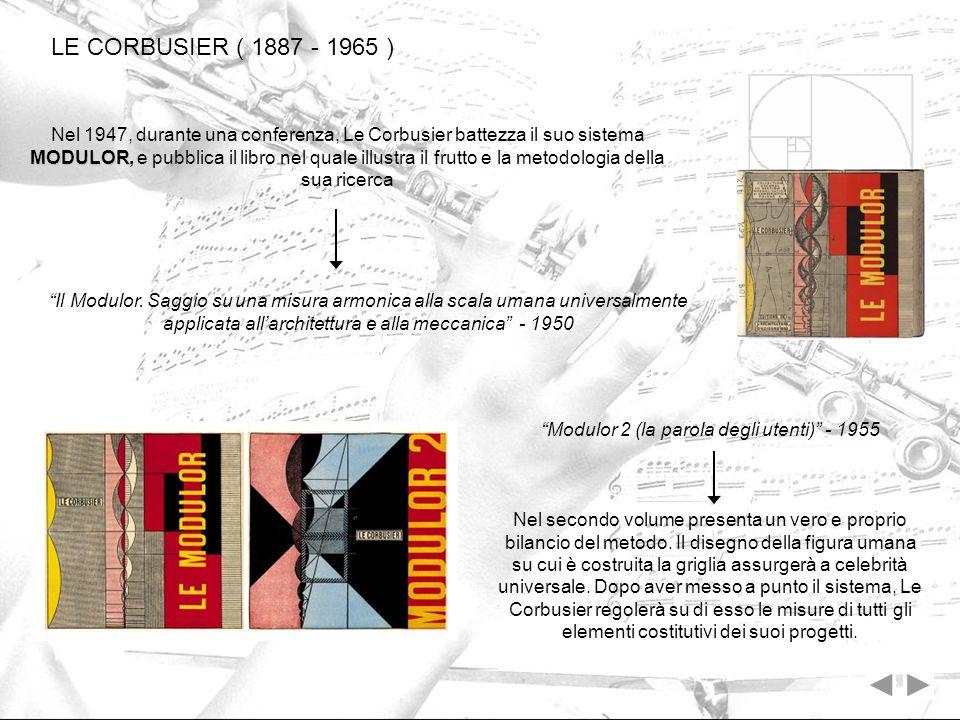 Modulor 2 (la parola degli utenti) - 1955