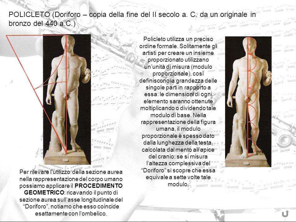 POLICLETO (Doriforo – copia della fine del II secolo a. C
