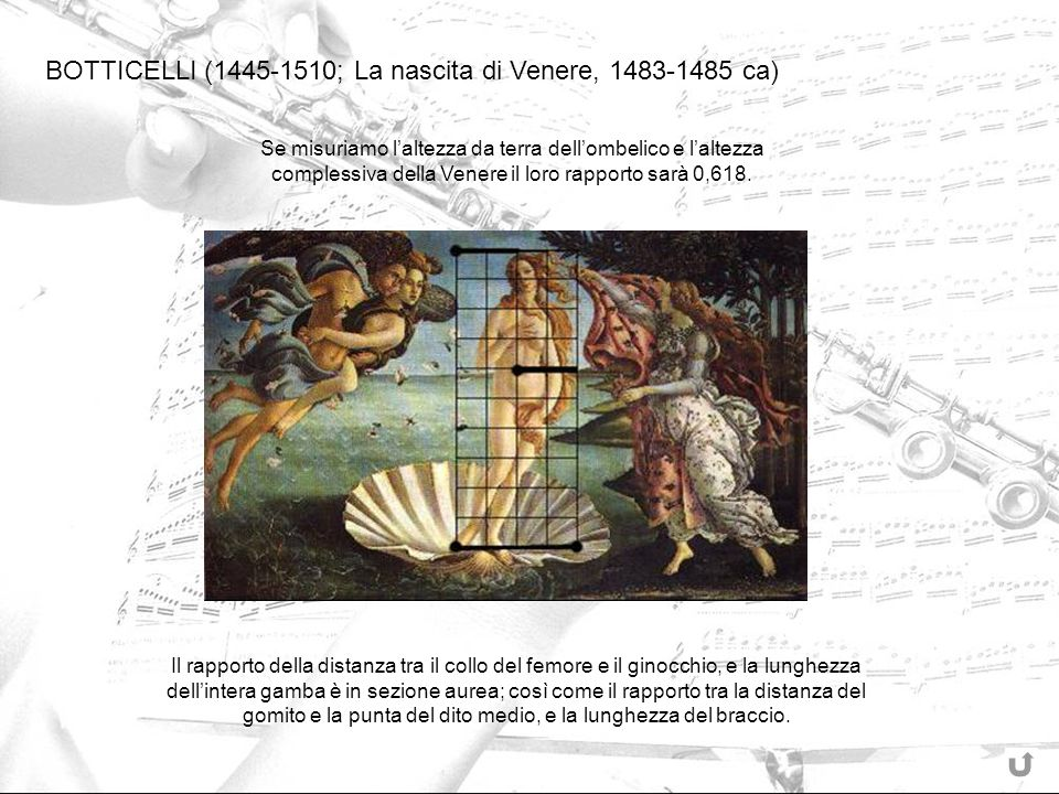 BOTTICELLI (1445-1510; La nascita di Venere, 1483-1485 ca)
