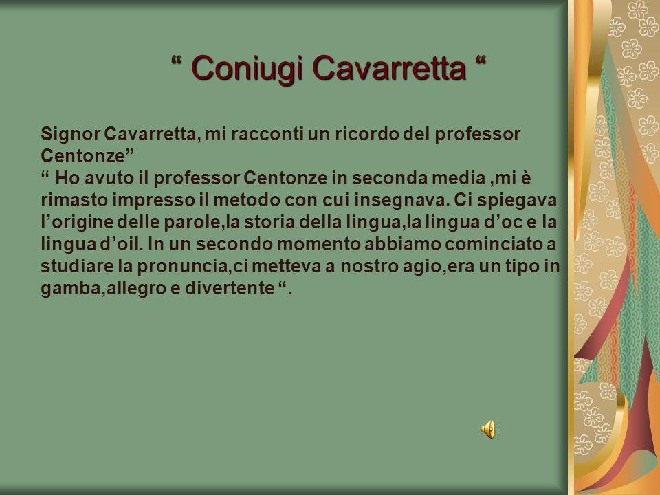 Coniugi Cavarretta