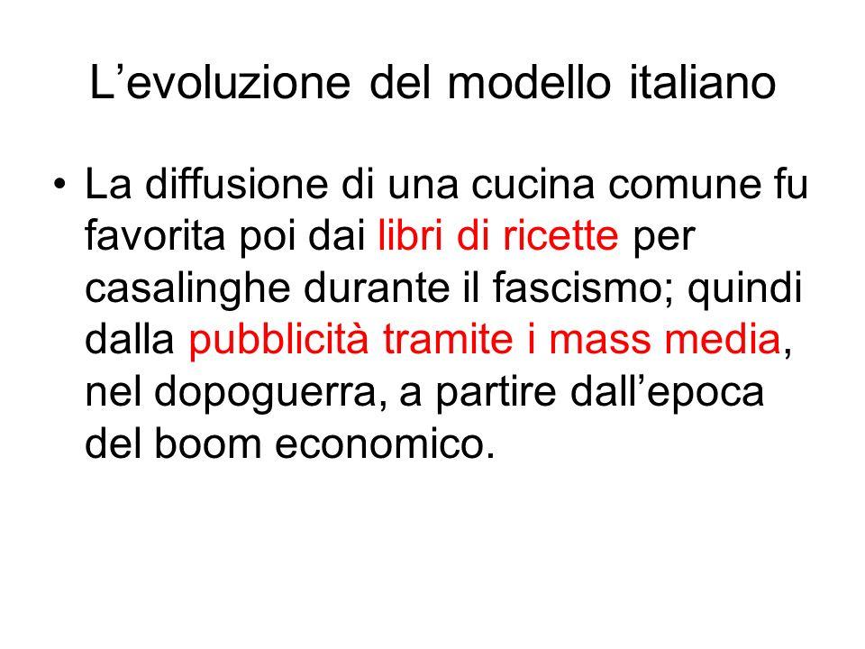 L'evoluzione del modello italiano