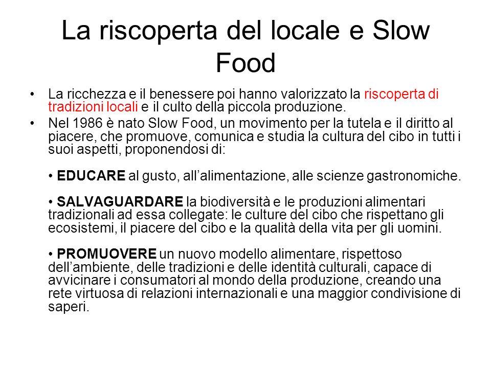 La riscoperta del locale e Slow Food