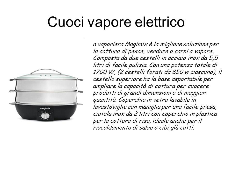 Cuoci vapore elettrico