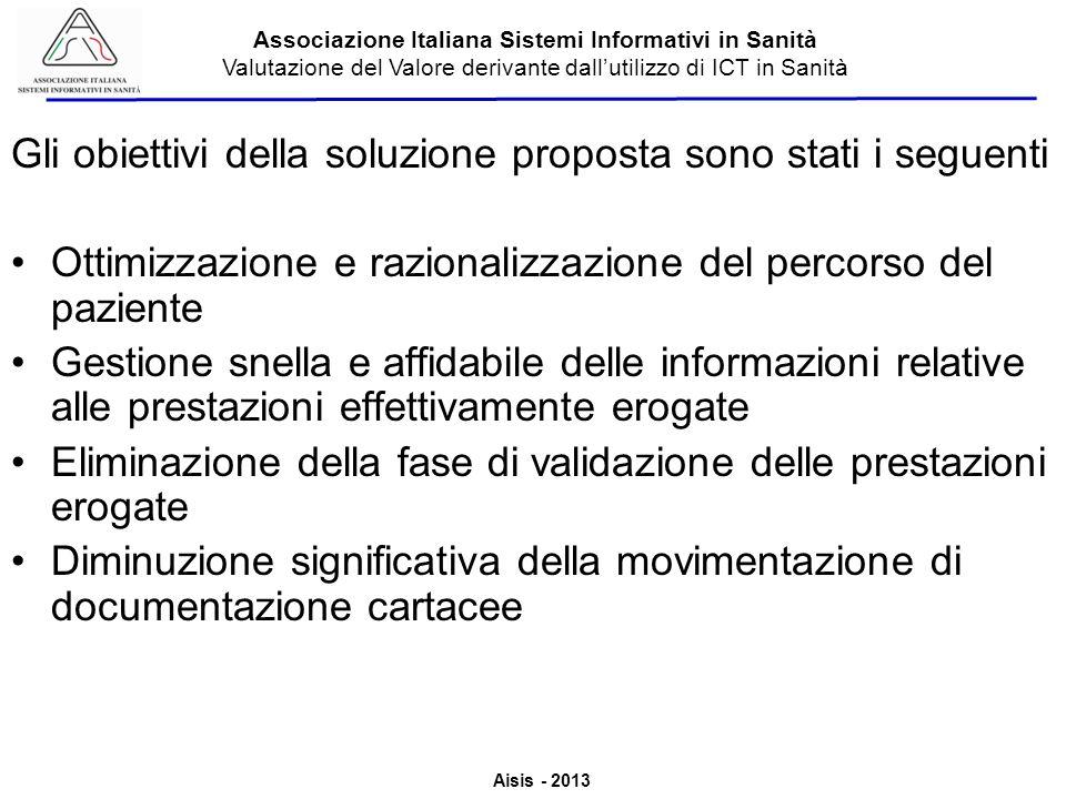 Gli obiettivi della soluzione proposta sono stati i seguenti