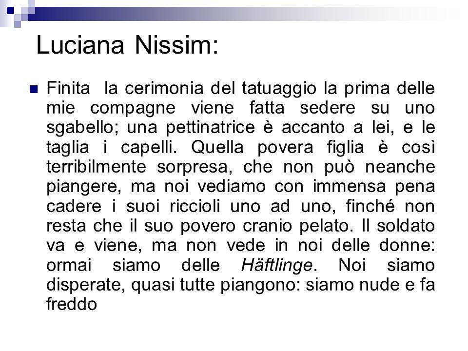 Luciana Nissim: